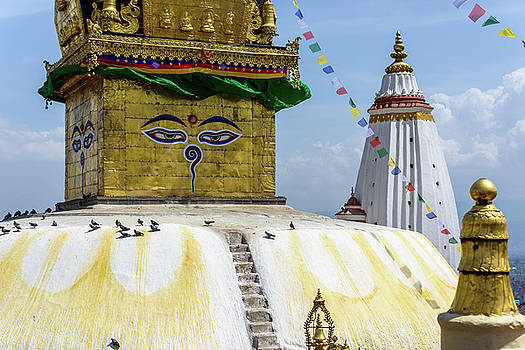 Swayambhunath stupa in Kathmandu by Dutourdumonde Photography