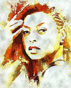 Taraji P Henson by Lynda Payton