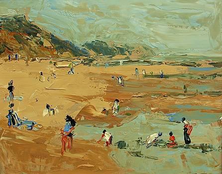 The Beach by Brian Simons