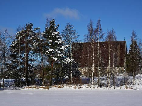 The Church of St Mary in Sastamala by Jouko Lehto