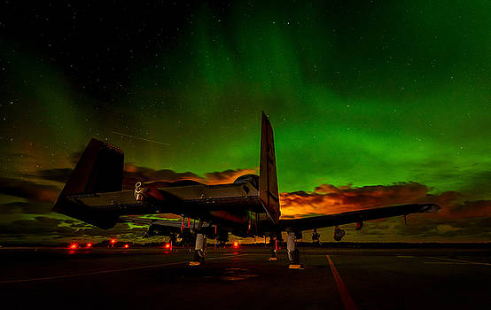 Gen Vagula - U.S. Air Force A-10 Aurora Moment at Amari Air Base, Estonia