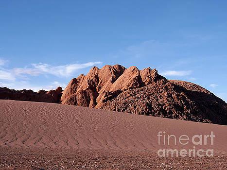 Valle de la Luna in the Atacama Desert Chile by Louise Heusinkveld