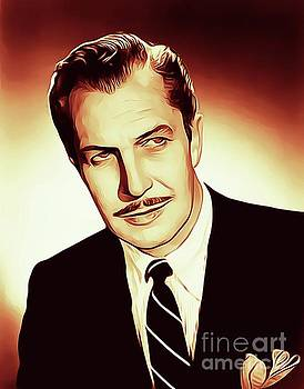 Vincent Price, Vintage Actor by John Springfield