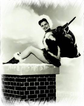 Frank Falcon - Vintage Hollywood Christmas Pinup