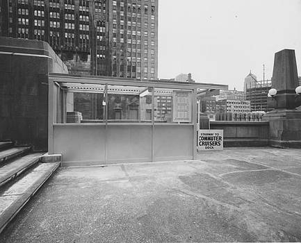 Chicago and North Western Historical Society - Wendella Dock at Chicago Passenger Terminal - 1962