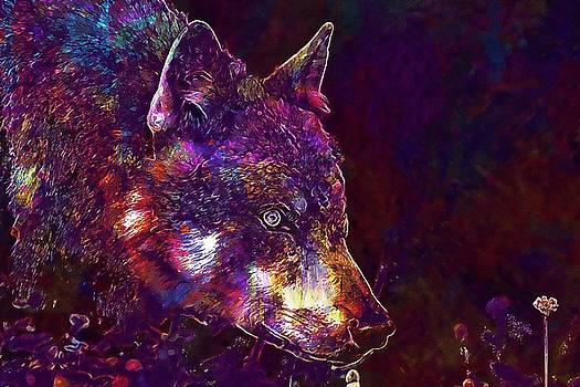 Wolf Predator European Wolf  by PixBreak Art