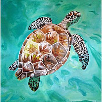 30A Sea Turtle by Sarah LaRose Kane