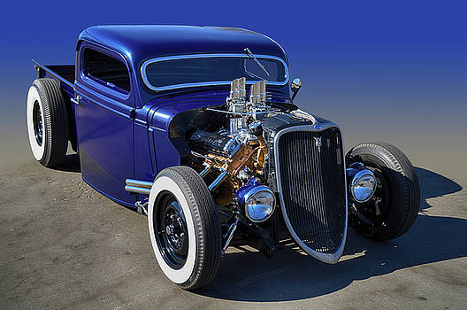 33 Hot Rod Truck by Bill Dutting