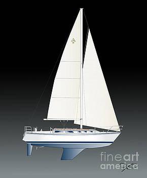 33B gallant sailing by Regina Marie Gallant