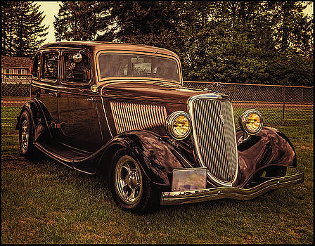 Thom Zehrfeld - Cool 34 Ford Four Door Sedan