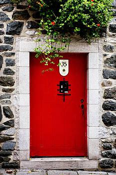 35 Red Door by Lorna Rande