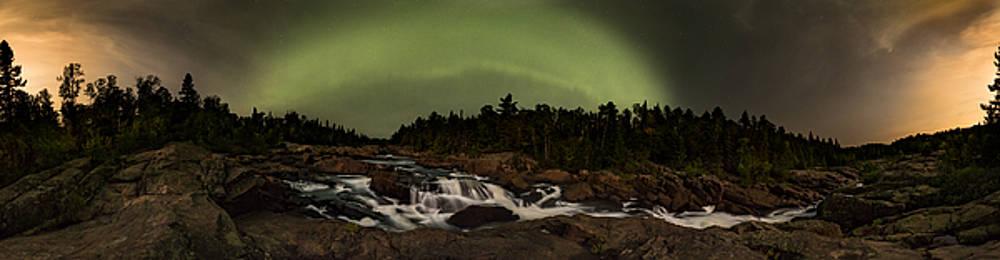 360 Cascades Night by Jakub Sisak