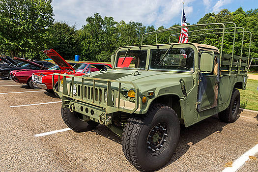 Hall County Sheriffs Office Show And Shine Car Show by Michael Sussman