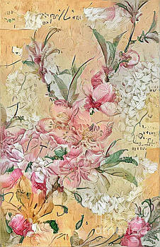Shabby Chic Botanical Flowers by Amy Cicconi