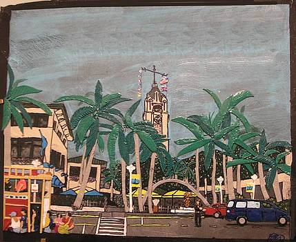 3d Aloha tower by Shawn Elston