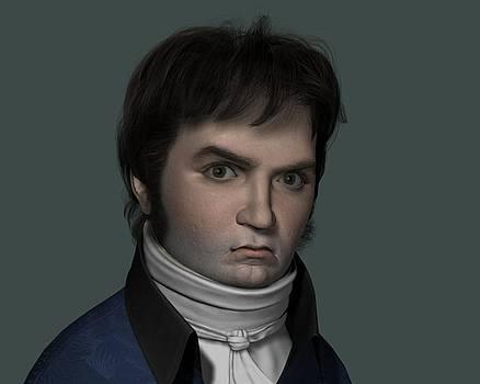 3d Beethoven by Giora Eshkol