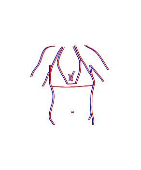 3D bikini by Cortney Herron