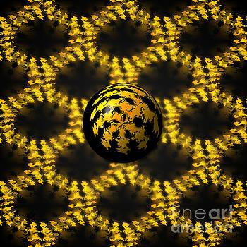 3d Fractal Ball by Henrik Lehnerer