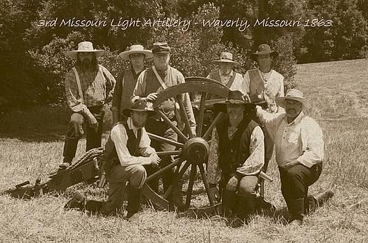 David Dunham - 3rd Missouri Light Artillery