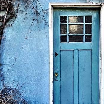 Blue Door by Julie Gebhardt