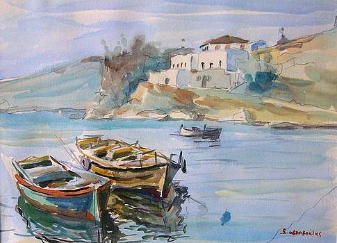 Boats by George Siaba