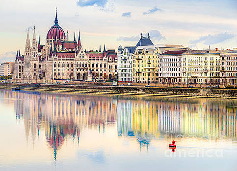 Budapest parliament - Hungary by Luciano Mortula
