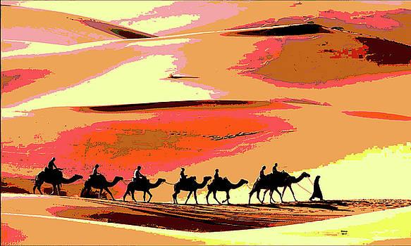 Camel Caravan by Charles Shoup