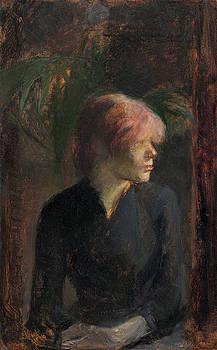Carmen Gaudin by Henri De Toulouse-Lautrec