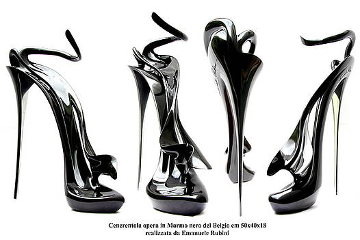 Cinderella S Elegance And Sex Symbol Sculpture Cenerentola by Emanuele Rubini
