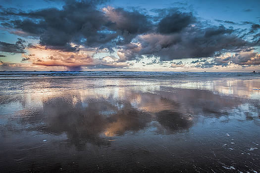 Coastal Reflections by Andrew Soundarajan