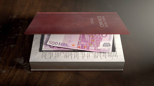 Concealed Notes In A Book by Allan Swart