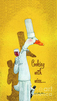 Will Bullas - cooking with wine...