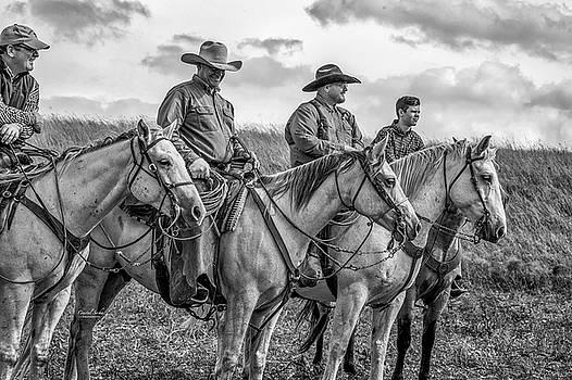4 Cowboys by Crystal Socha
