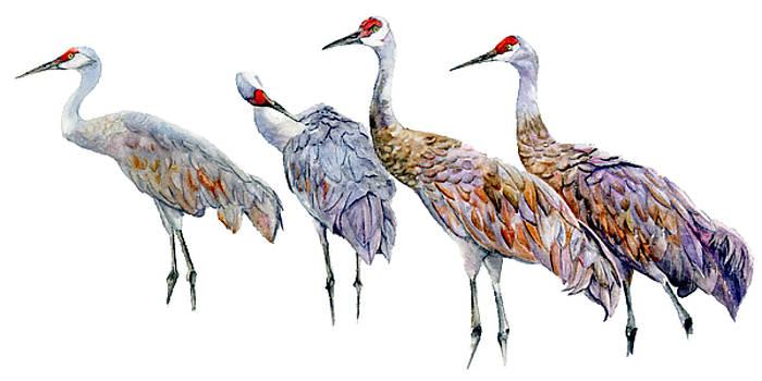Vicky Lilla - 4 Cranes