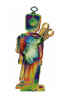 Roy Livingston - D4X X-ray Robot Art Photograph