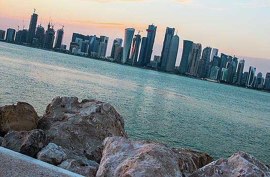 Doha Towers by Ehab Amin
