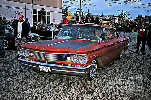 4 door Pontiac by Randy Harris