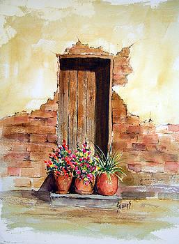 Sam Sidders - Door With Pots