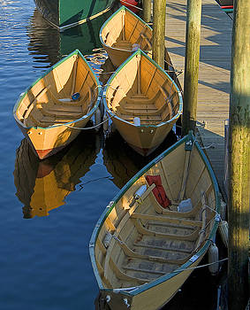 4 Dories by Michael Oleksiw