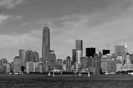 Downtown Manhattn - Freedom Tower by Yue Wang