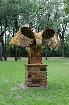 Eagle Sculpture 5 by Wayne Pruse