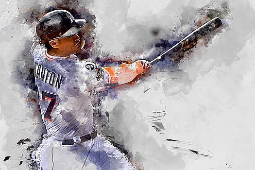 Giancarlo Stanton by Marvin Blaine