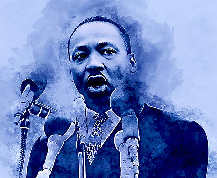 Martin Luther King by Marvin Blaine