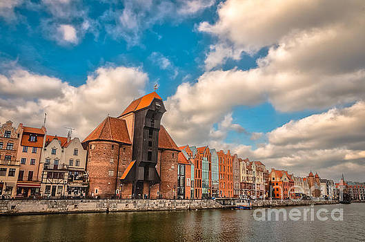 Mariusz Talarek - Medieval Crane in Gdansk