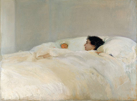 Mother by Joaquin Sorolla y Bastida