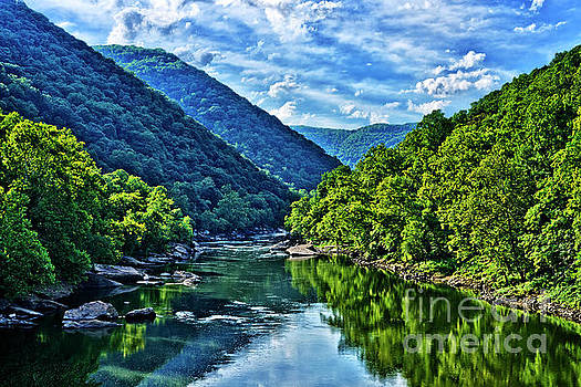 New River Gorge National River by Thomas R Fletcher