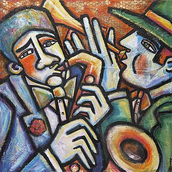 Jazz Men by Ilene Richard