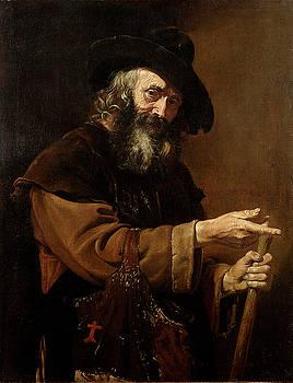 Old Pilgrim by Pietro Bellotti