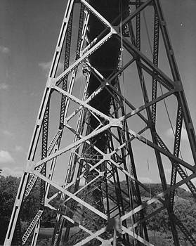 Chicago and North Western Historical Society - Boone High Bridge - 1958