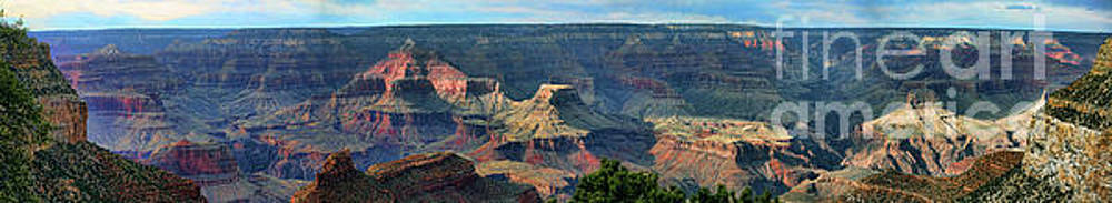 Chuck Kuhn - 4 pic Panorama Grand Canyon Raw